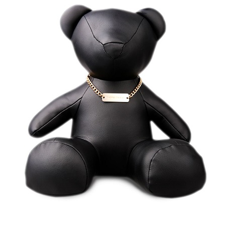 1More Bear Toy Black