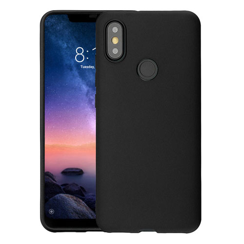 Mi A2 TPU Soft Case Black