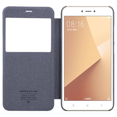 NILLKIN Sparkle Folio Case for Xiaomi Redmi Note 5A Gray