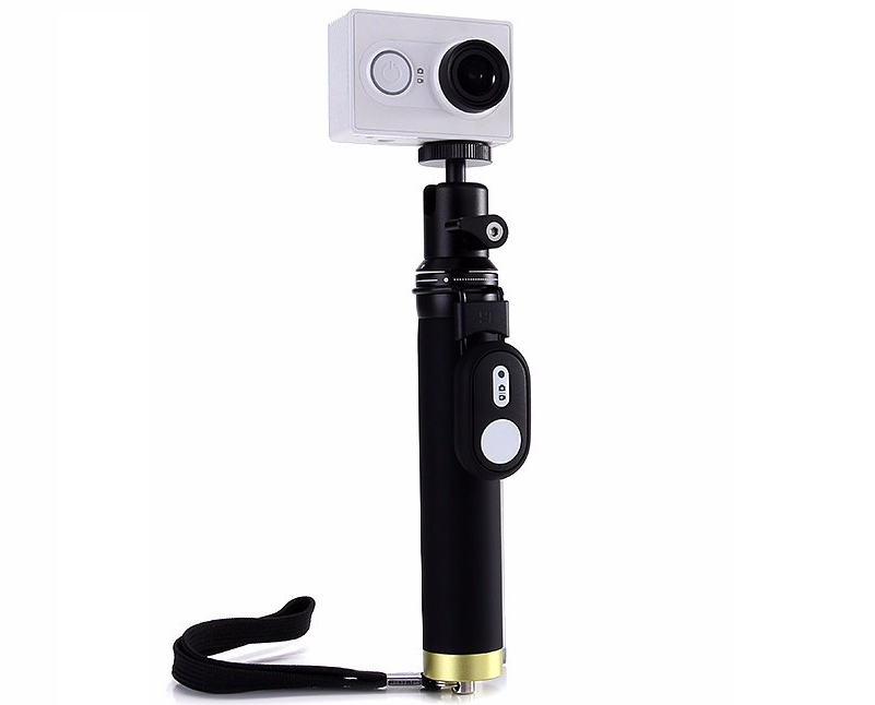 buy xiaomi yi action camera monopod selfie stick bluetooth remote control in washington and. Black Bedroom Furniture Sets. Home Design Ideas