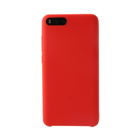 Xiaomi Mi Note 3 Full Wrap Silicone Case Red