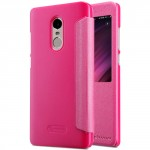 Nillkin Sparkle Leather Case for Xiaomi Redmi Note 4X Pink