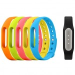 Xiaomi Mi Band Black + 5 Colorful Mi Band Straps