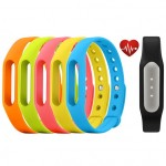 Xiaomi Mi Band Pulse Black + 5 Colorful Mi Band Straps