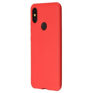 Mi A2 TPU Soft Case Red