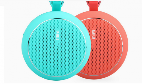 MiFa Outdoor Bluetooth Speaker Red