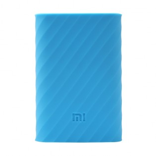 Xiaomi Mi Power Bank 10000mAh Silicone Protective Case Blue