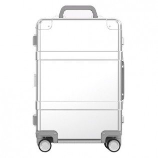 "Mi 90 Points Smart Metal Suitcase 20"" Silver"