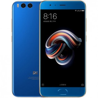 Xiaomi Mi Note 3 High Ed. 6GB/128GB Dual SIM Blue
