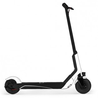 qicycle euni electric scooter white in washington and usa. Black Bedroom Furniture Sets. Home Design Ideas