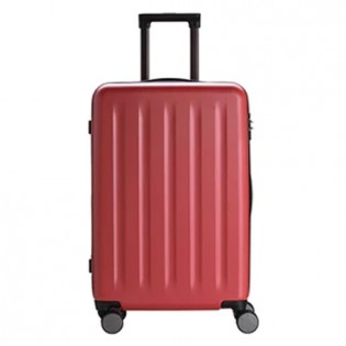 "RunMi 90 Points Trolley Suitcase 24"" Nebula Red"
