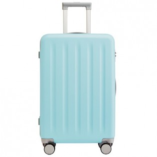 "RunMi 90 Points Trolley Suitcase 20"" Macaron Mint Green"