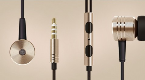 Xiaomi Mi Piston V2 In-Ear Headphones Gold