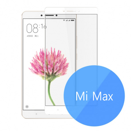 Xiaomi Mi Max Color Frame 2.5D Tempered Glass Screen Protector
