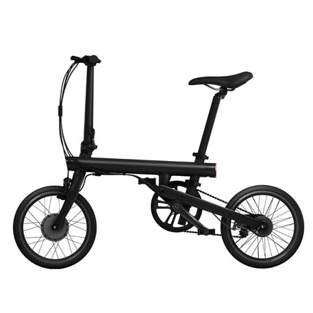 MiJia QiCycle Folding Electric Bike Black