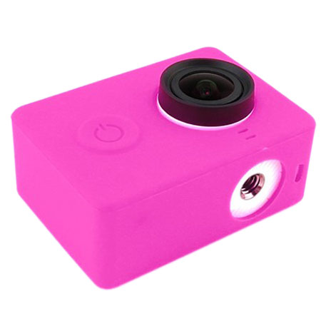 Xiaomi Yi Action Camera Silicone Protective Case Pink