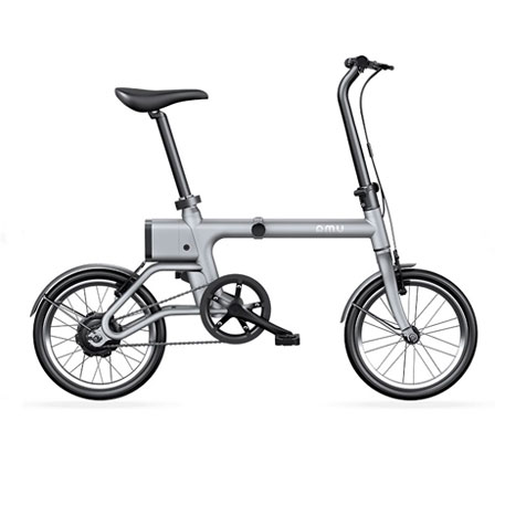 Yunbike UMA Mini Foldable Bicycle Gray