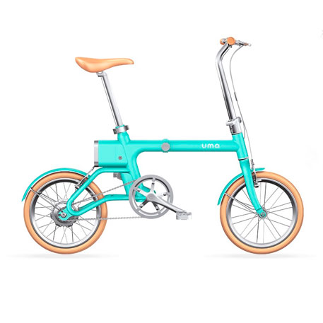 Yunbike UMA Mini Pro Foldable Bicycle Blue