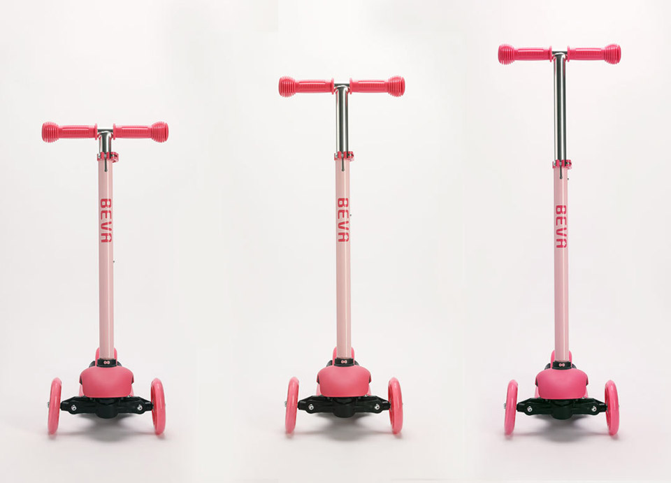BEVA scooter 3 modes