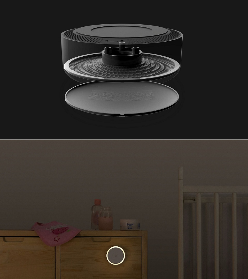 MiJia Induction Night Light with Motion Sensor Construction
