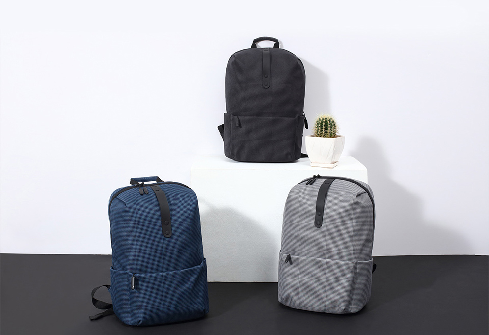 Xiaomi Mi Casual College Backpack Black Photo 1